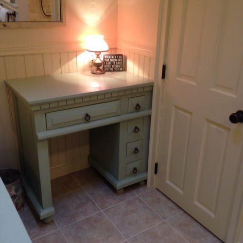 custom farmhouse vanity