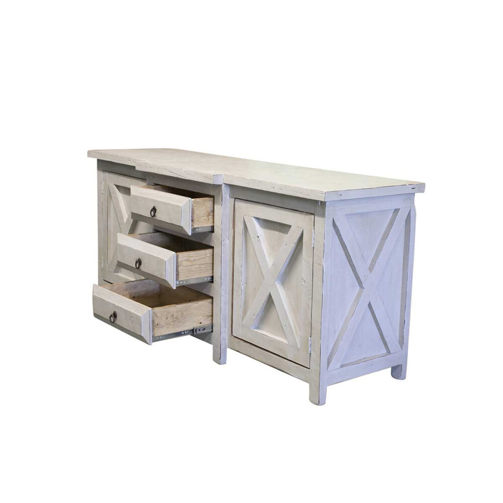 urban farmhouse vanity