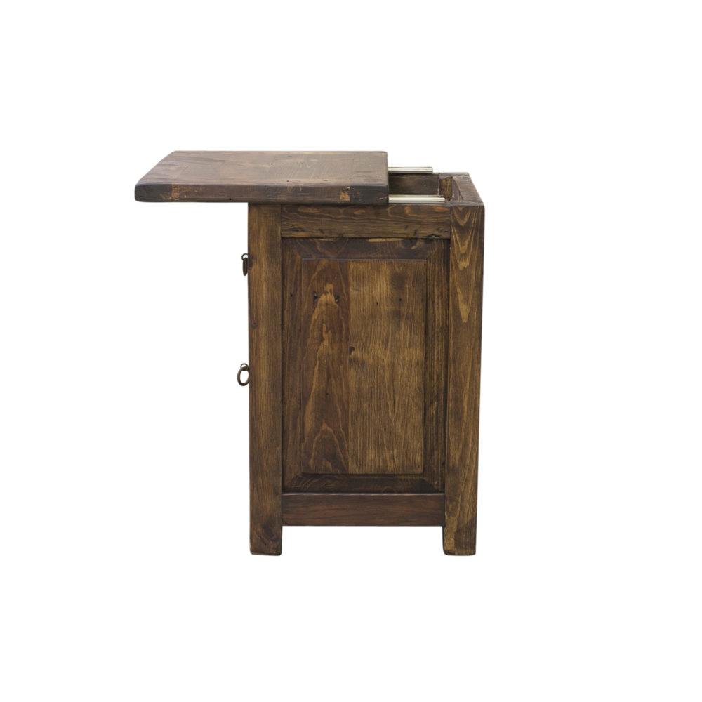 concealed nightstand sideview