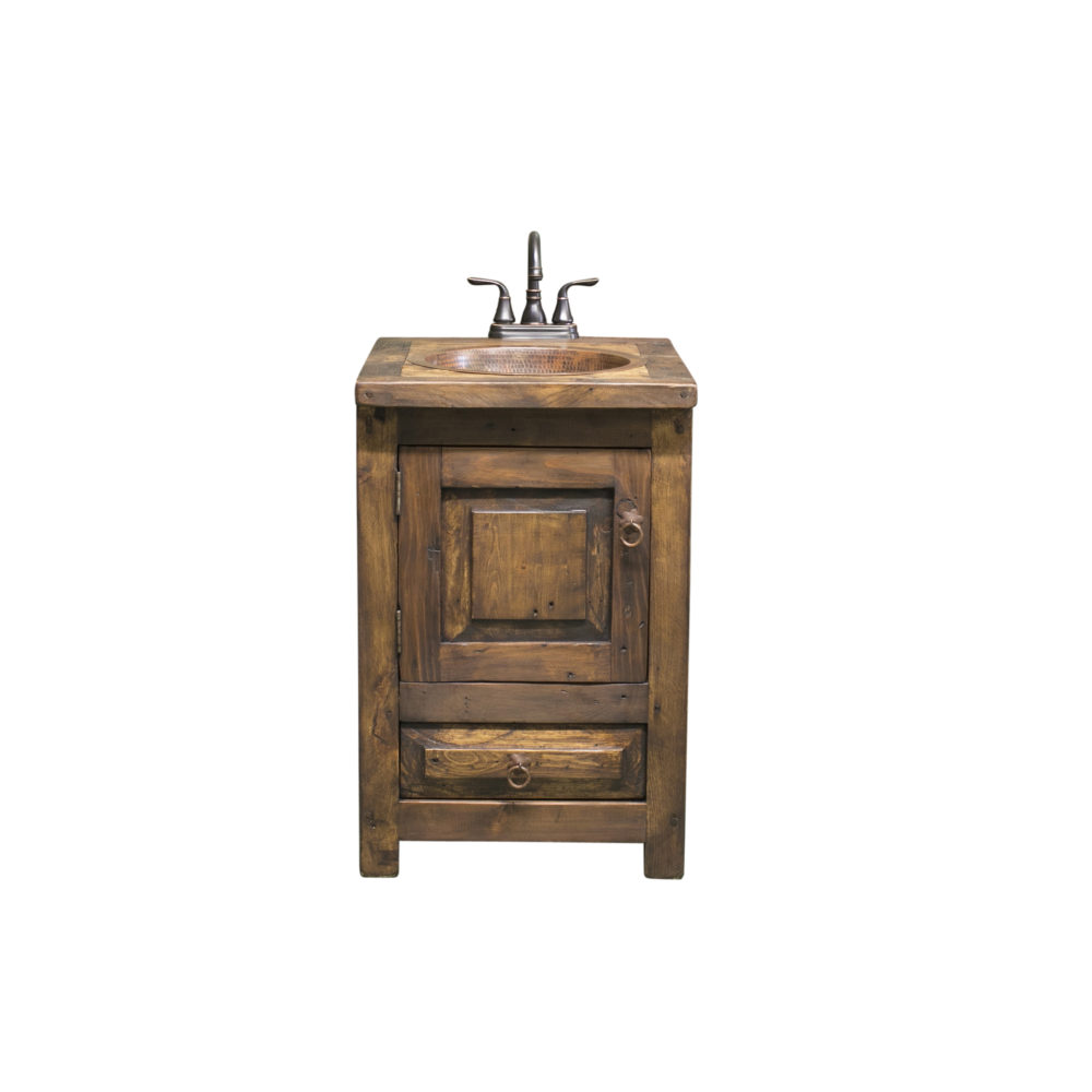 24″ bathroom vanity rustic