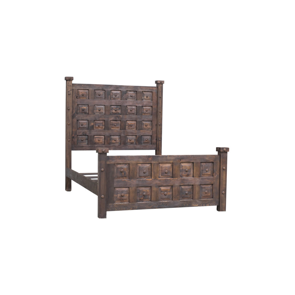 mission viejo rustic bed
