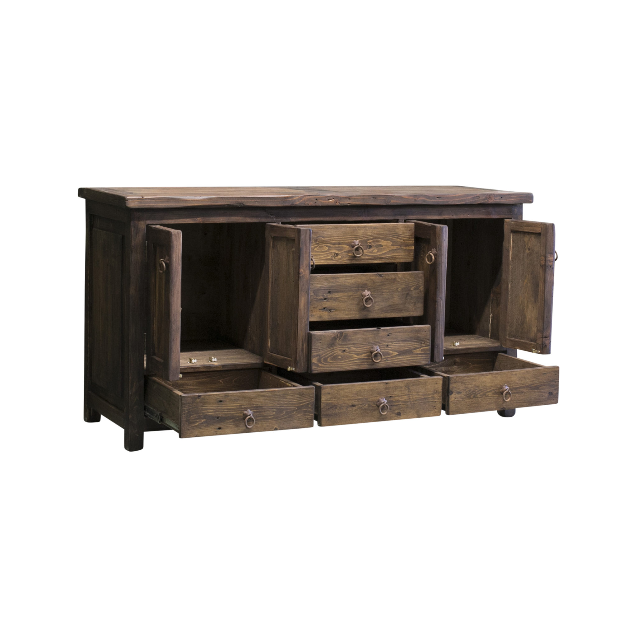 rustic vanity for large bathroom