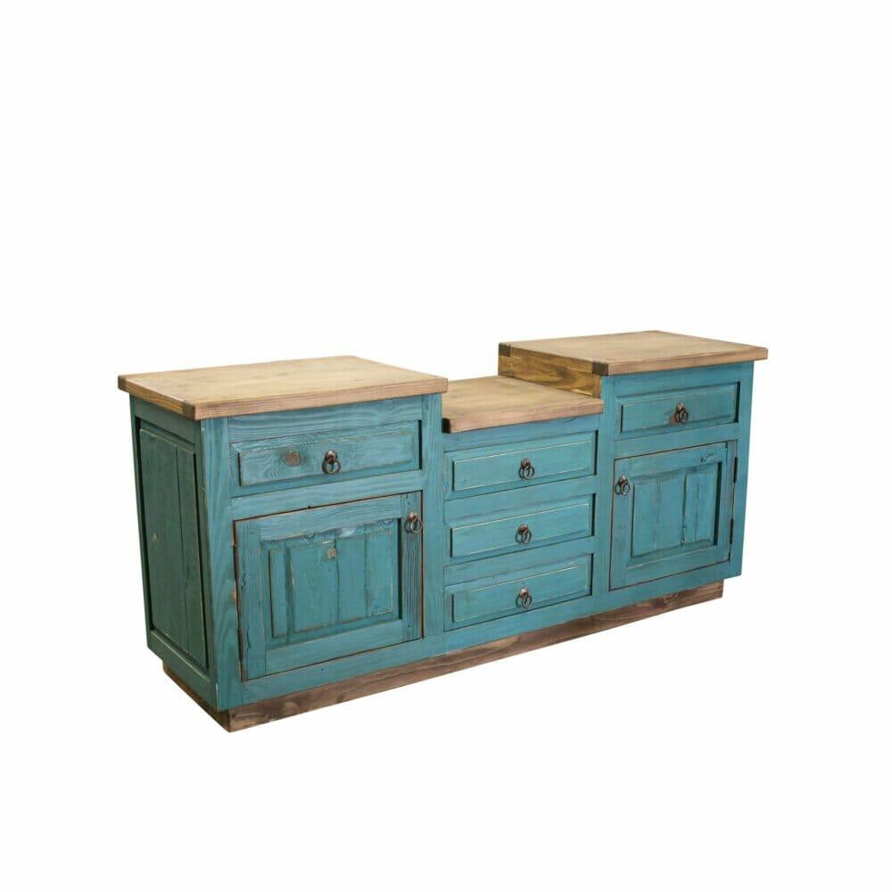 benson turquoise bathroom vanity