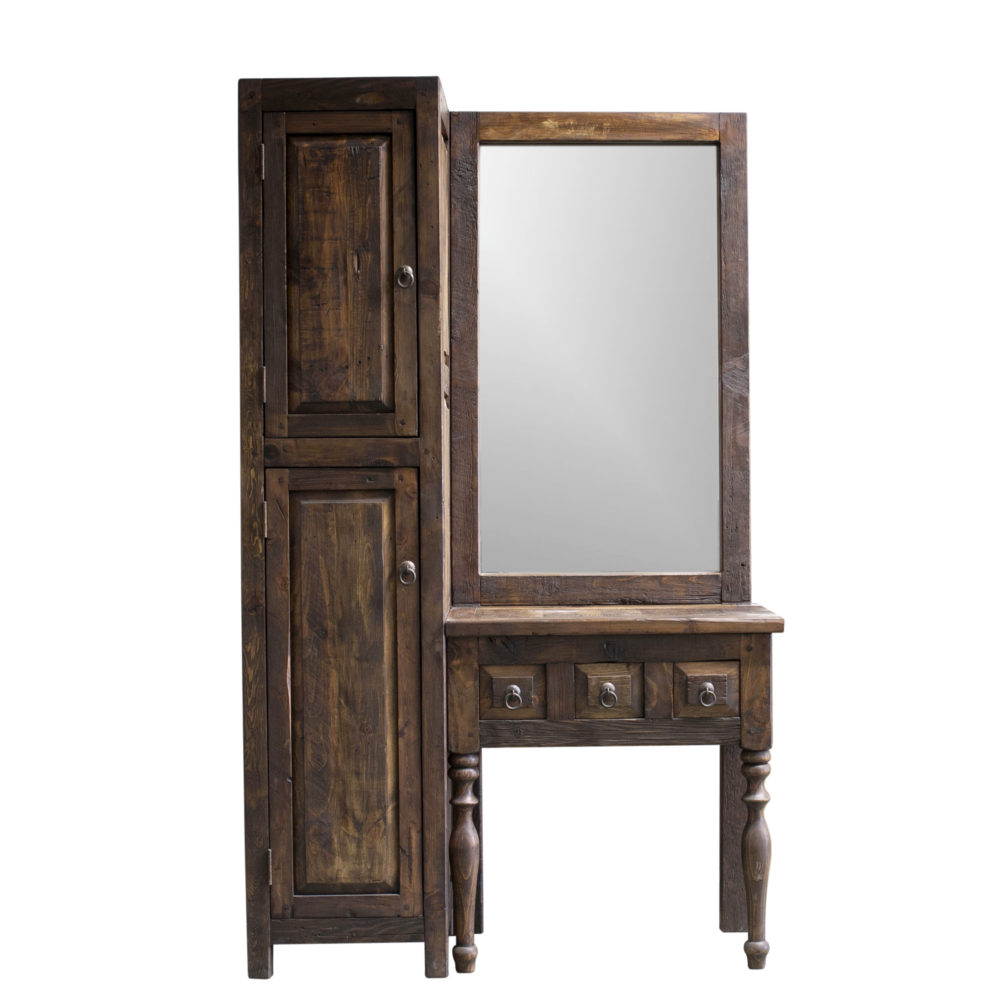 bridgette rustic vanity and linen