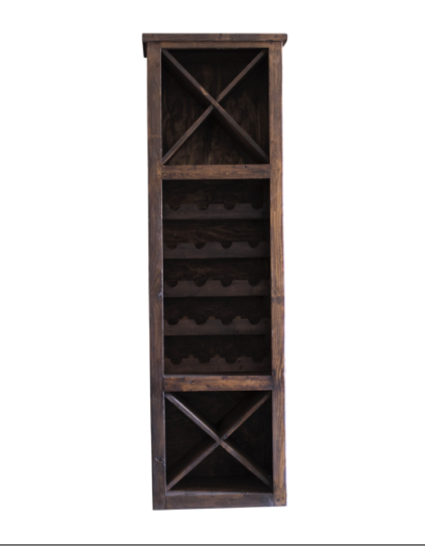 hastings tall wine rack front