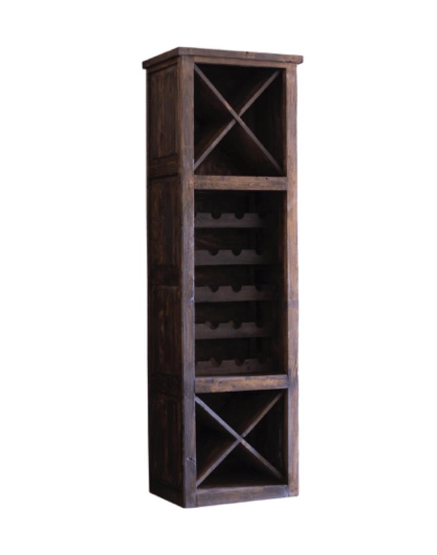 hastings tall wine rack side