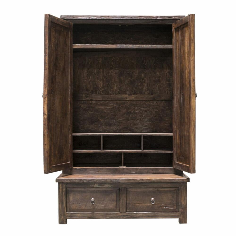 ivory adventure armoire open