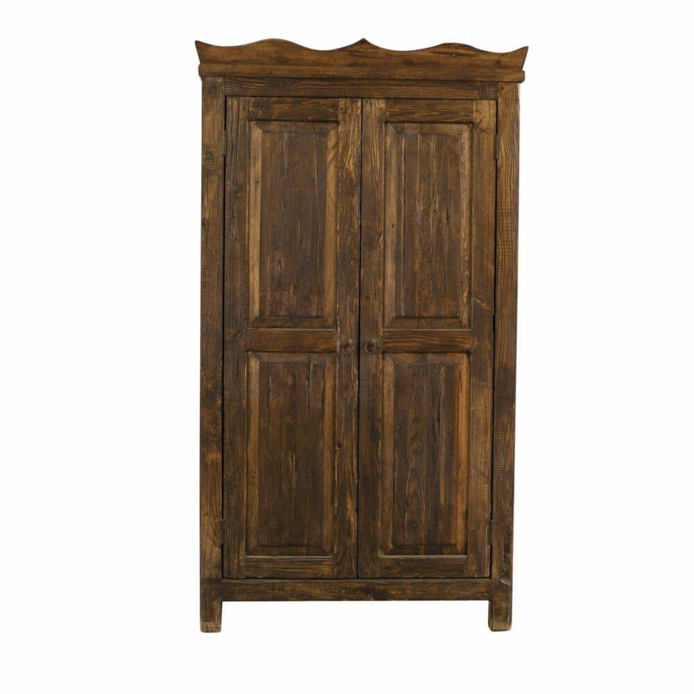 Brayden reclaimed armoire front