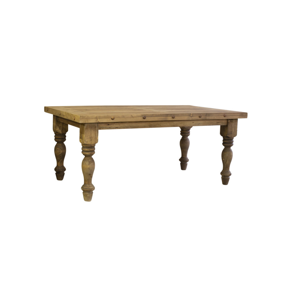 Magnolia rustic dining table