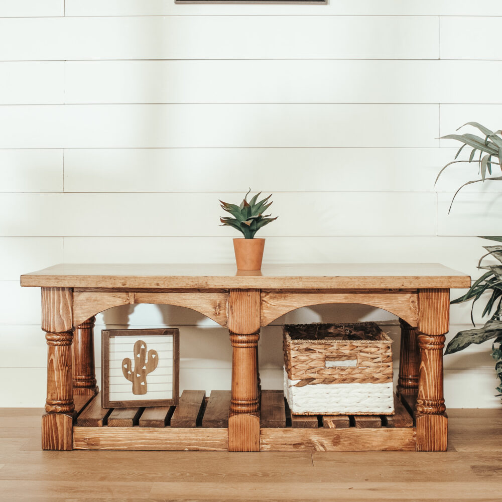 custom rustic coffee table