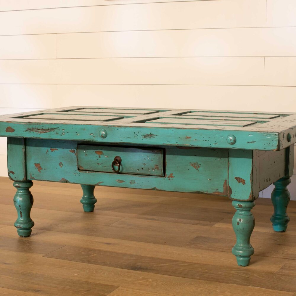 turquoise-coffee-table